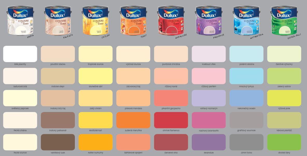Barvy dulux prodejny