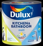 Dulux kitchen & bathroom matt 2,5L