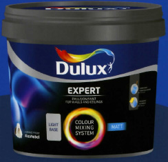 Dulux Expert Matt base medium 1L
