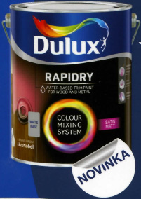 Dulux Rapidry Satin Matt base medium 2,5L