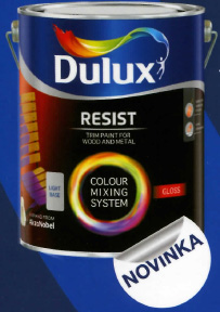 Dulux Resist Gloss base extra deep 4,5L