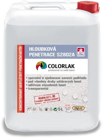 Colorlak Penetrace S2802A 5L