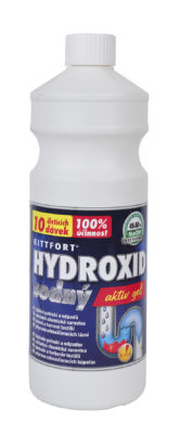 Kittfort Hydroxid sodný – gel 1l