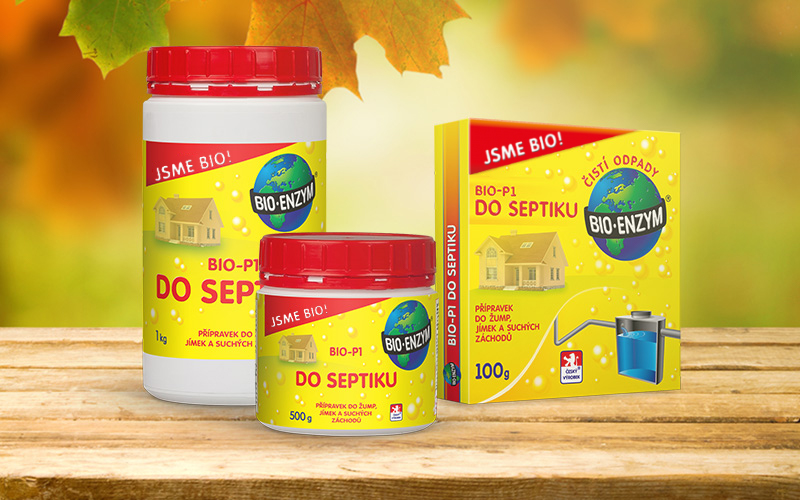 Bio-enzym BIO-P1 DO SEPTIKU 100g