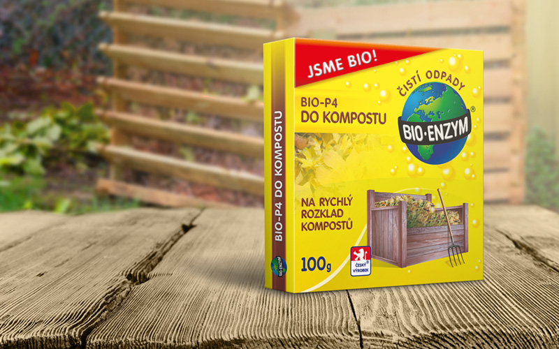 Bio-enzym BIO-P4 DO KOMPOSTU 100g