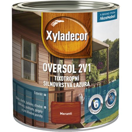 Xyladecor Oversol 2v1 0,75l
