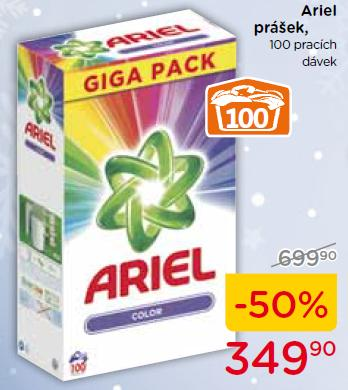 Ariel Giga pack Color 100 dávek 7,5Kg